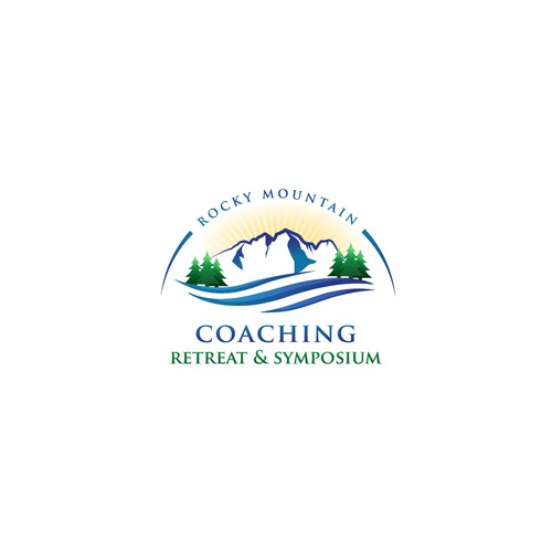 Logo for coaching retreat and symposium