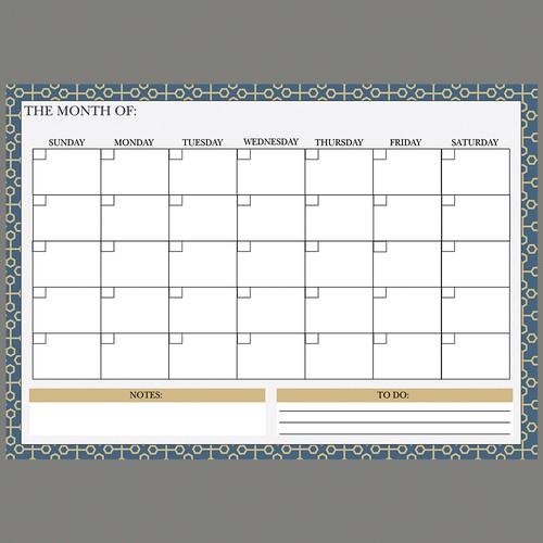 Refrigerator Calendar