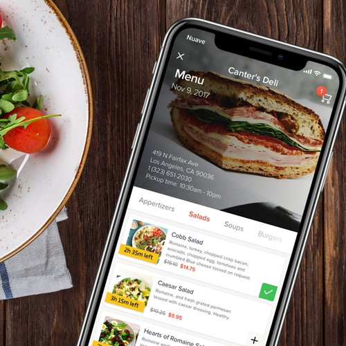 Cool Mobile app for Food ordering