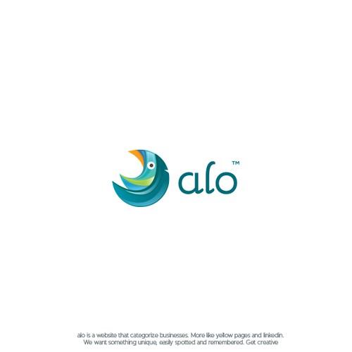 alo™ - logo design