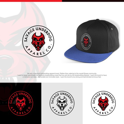 Hardcore logo/brand guide for hardcore bodybuilding apparel brand
