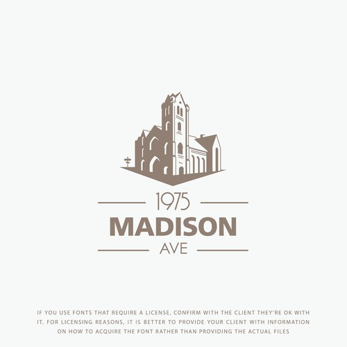 Logo concept for Madison Avenue