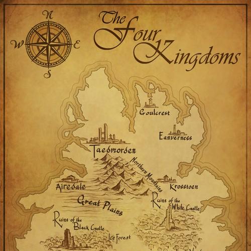 Four Kingdoms Map Design