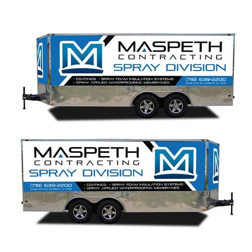 Maspeth Contracting 2017 Freedom 1400 Trailer