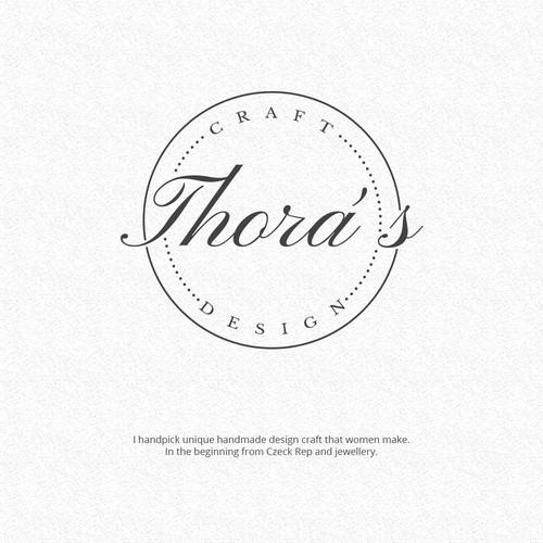 Create a logo for a responsible design craft brand.