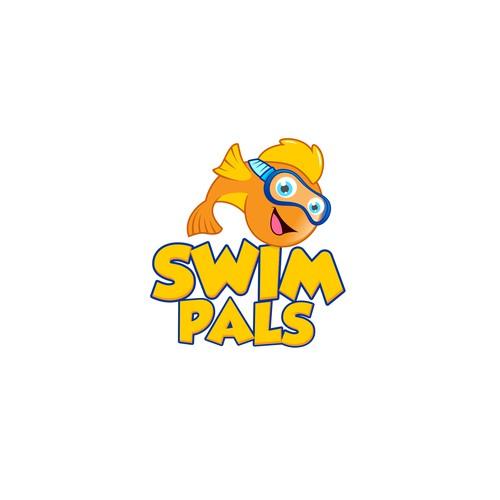 logo swim pals