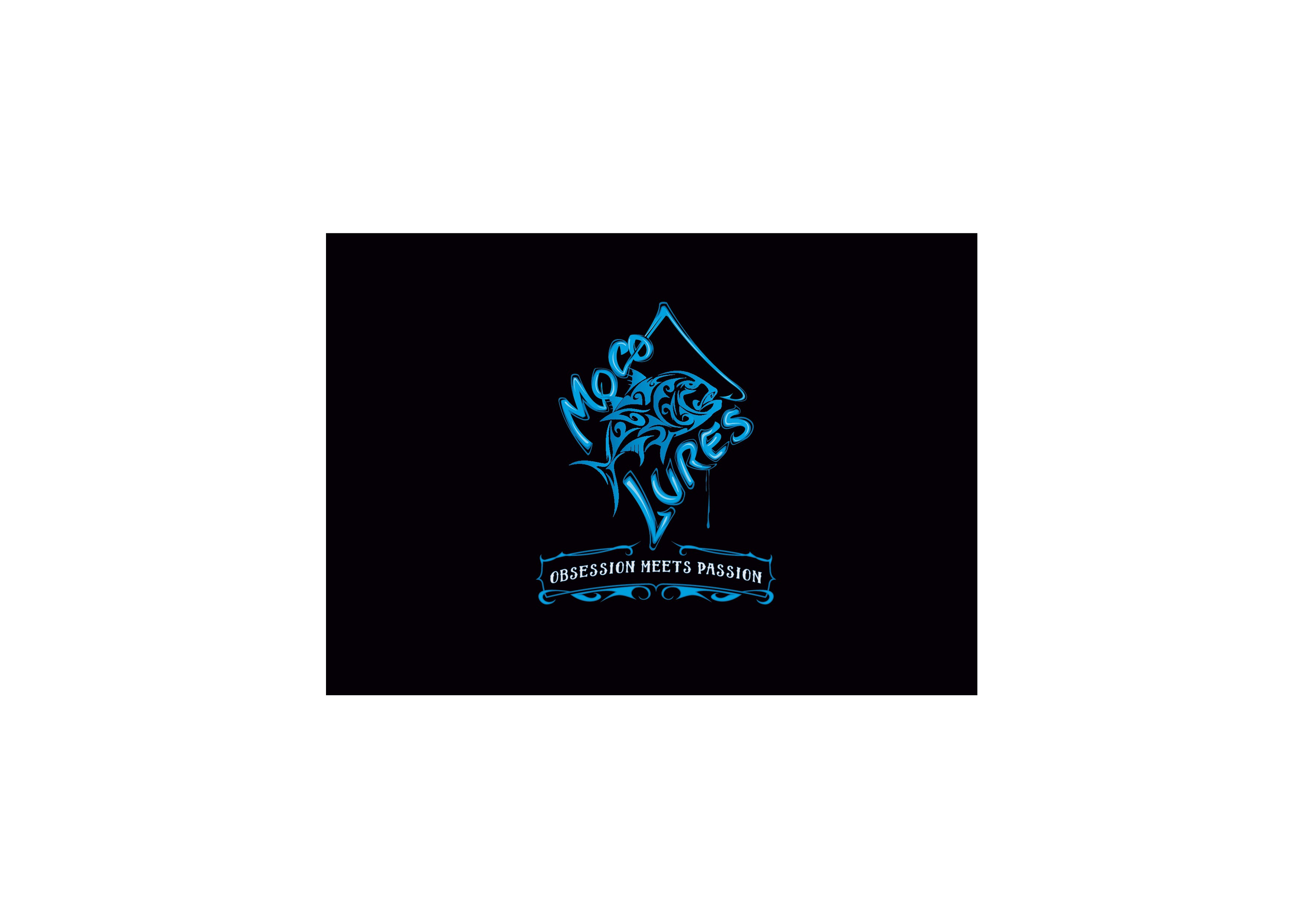 Create a tribal Fishing Lure logo for a passionate and obsessed middle eastern lure manufacturer