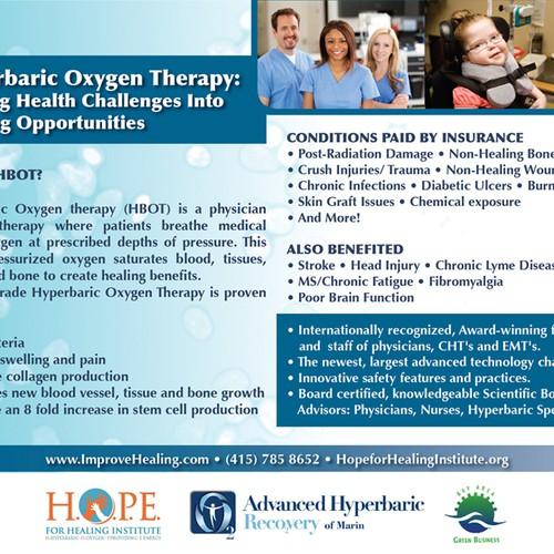 H.O.P.E. for Healing Institute needs a new design