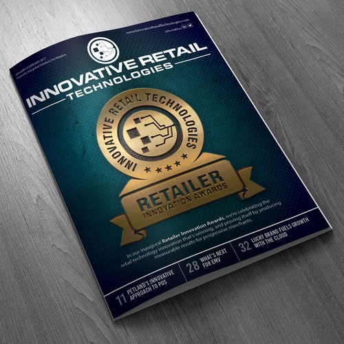 In contest Innovative Magazine Cover Needed!