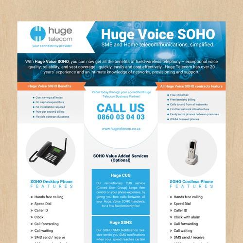 Flyer for Telecom