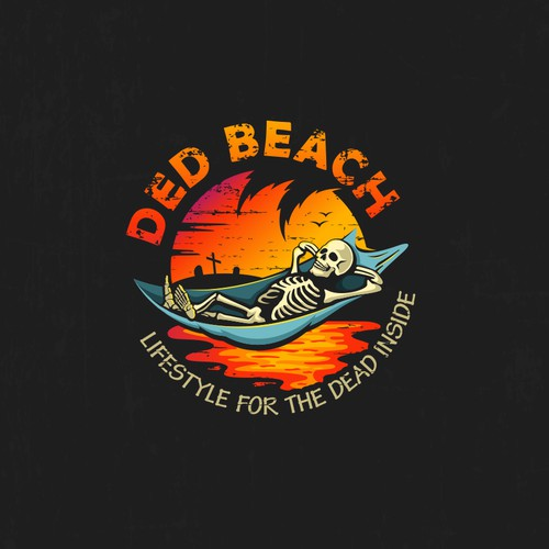 Logo Design for DedBeach Apparel