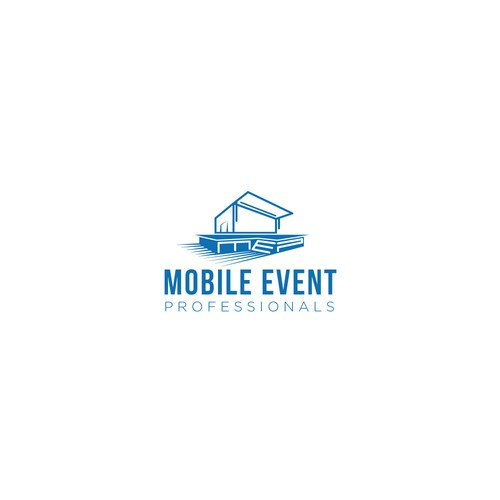 A logo for mobile stage/event company