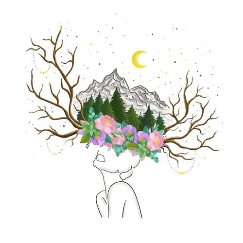 Boho Style Illustration
