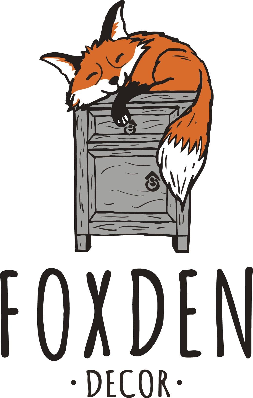 Design a Creative Logo for FoxDen Rustic Furniture