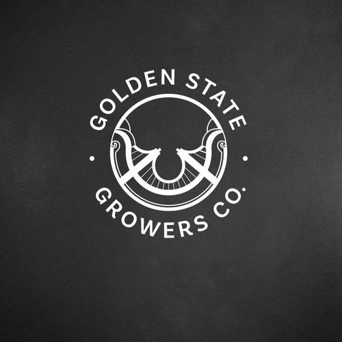 Golden bridge logo