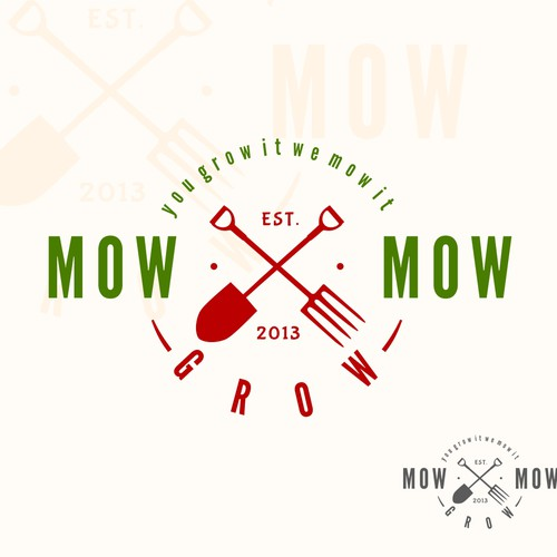MowGrowMow needs a new logo