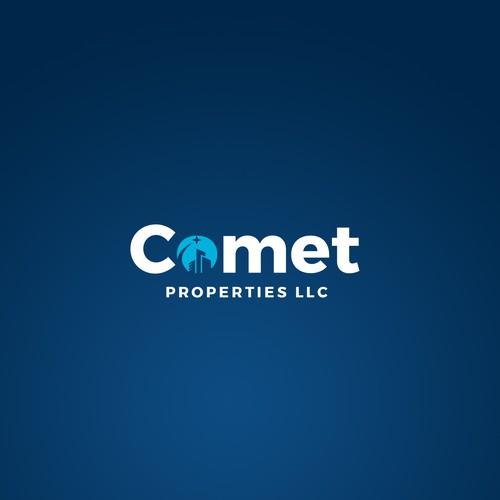 Modern logo concept for a real estate company