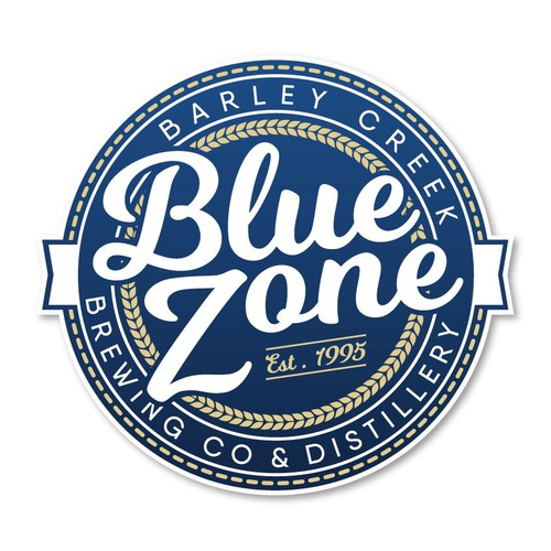 Blue Zone Gin Logo
