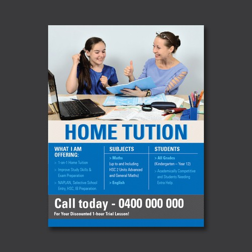 Home Tuition Flyer