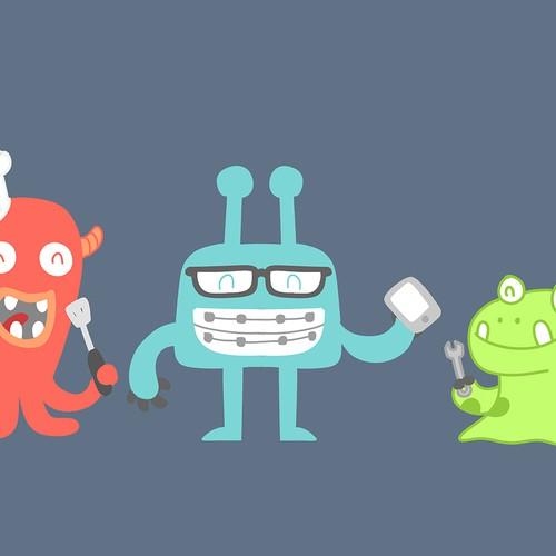 Caravan Aliens/monsters
