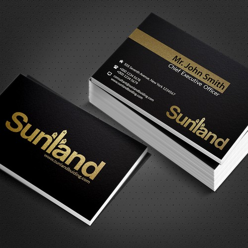 Sunland Building Pty Ltd - Logo and Business Card
