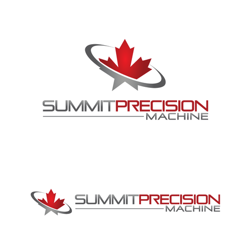 Logo re-desgn of Industrial Company 'Summit Precision Machine'