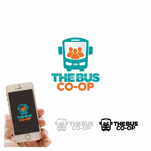 Design a fun and dynamic identity for the world's first Bus Co-op