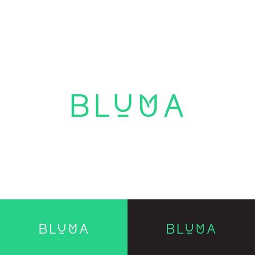 Bluma Logo design