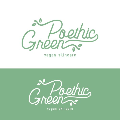 Poethic Green for a line of vegan skincare