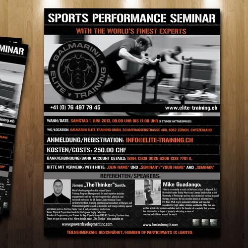 Sports Performance Seminar