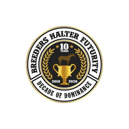 10th Anniversary Breeders Halter Futurity Logo