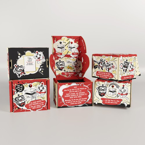 Packaging for Tofu Ninja Press