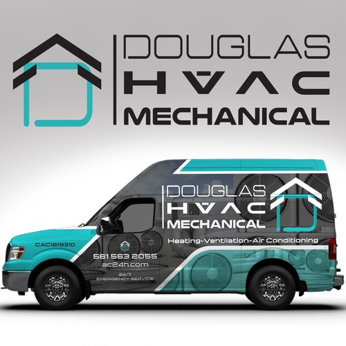 Van design for DOUGLAS HVAC