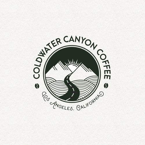 A logo for a natural cold brew coffee company