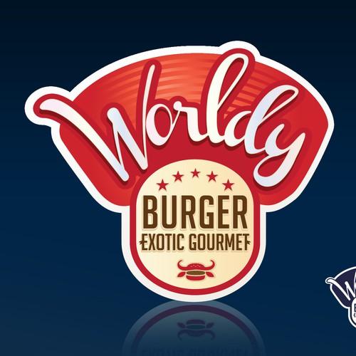 Help Worldy Burger with a new logo