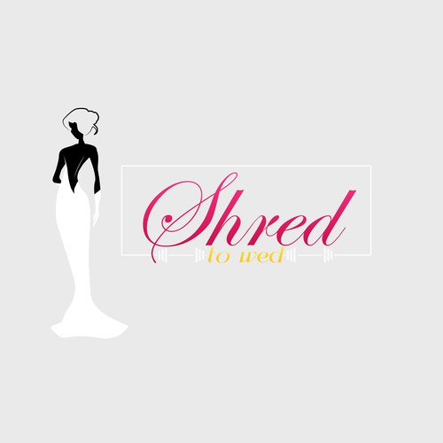 Create a feminine but sharp logo for weight loss/fitness programs for soon to be brides