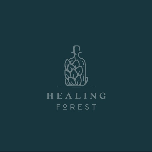 Logo for Healing Forest