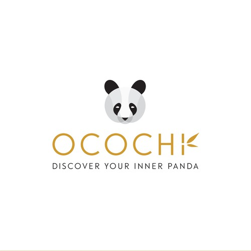 Panda Logo For A Bamboo Bedding Company