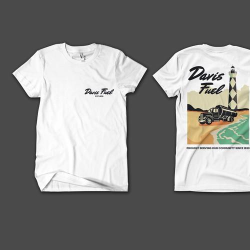Davis fuel t-shirt