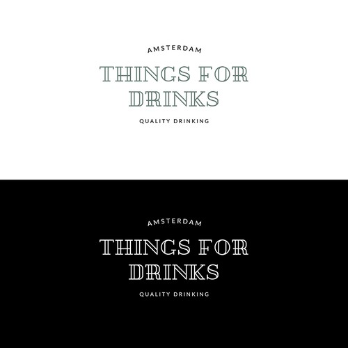 Logo design for Things for drinks