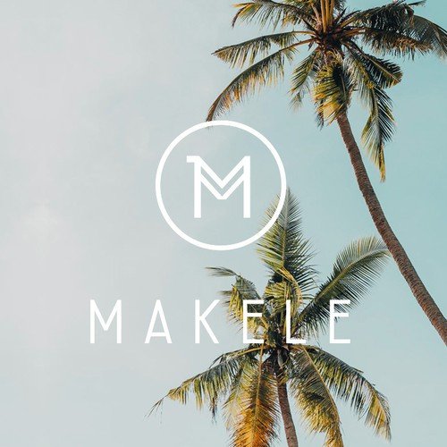 Logo for Hawaiian lifestyle brand Makele. Sports-Fashion, Yoga Essentials, Travel Equipment, Apparel, handpicked Jewelry