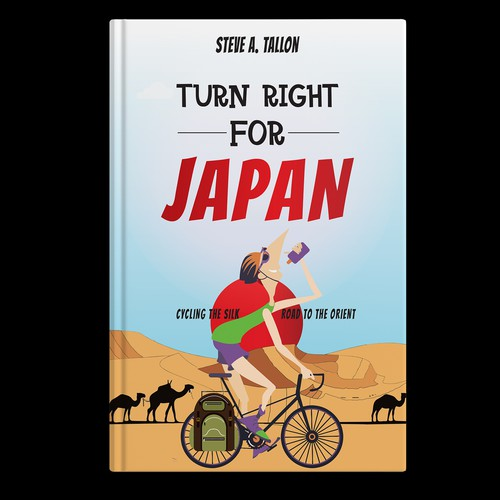 Book cover 'TURN RIGHT FOR JAPAN'
