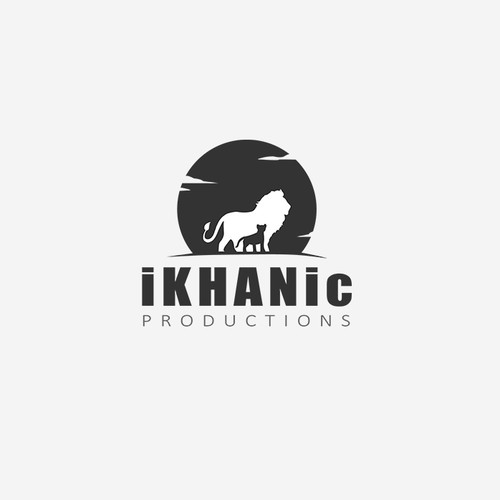 Cinematic logo concept of a great photography company, iKHANic Production.