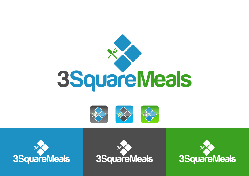 New logo wanted for 3 Square Meals