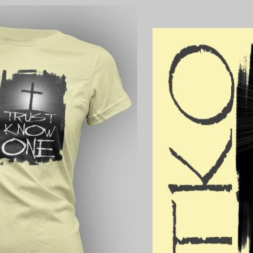 Initial T-Shirt design