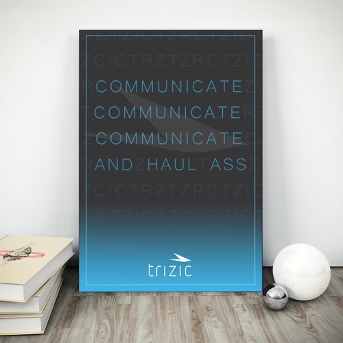 Canvas Art Trizic Poster