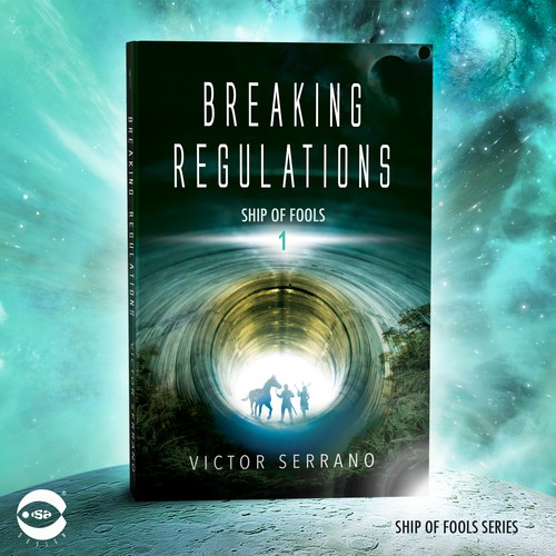 "Book cover for ""Breaking Regulations"" by Victor Serrano"