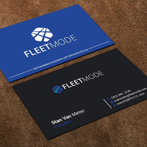 Mobile App Business Card