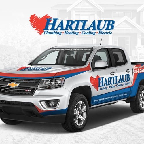 Vehicle Wrap for Hartlaub Services