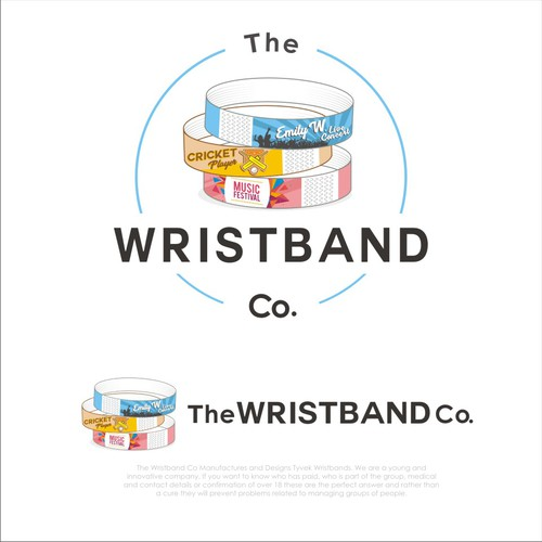 Logo for WRISTBAND COMPANY